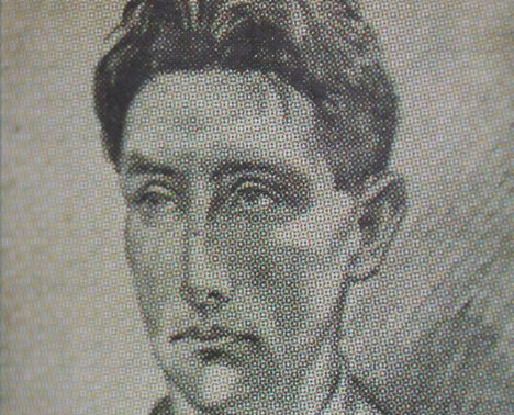 drawing of george gilmore