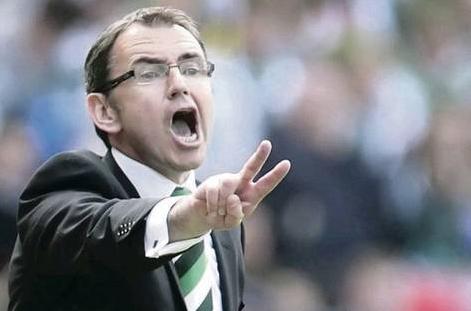 Pat Fenlon shouting