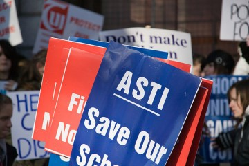 ASTI placards