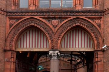 Doors of Georges market, belfast