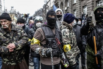Fascists at Maidan protest