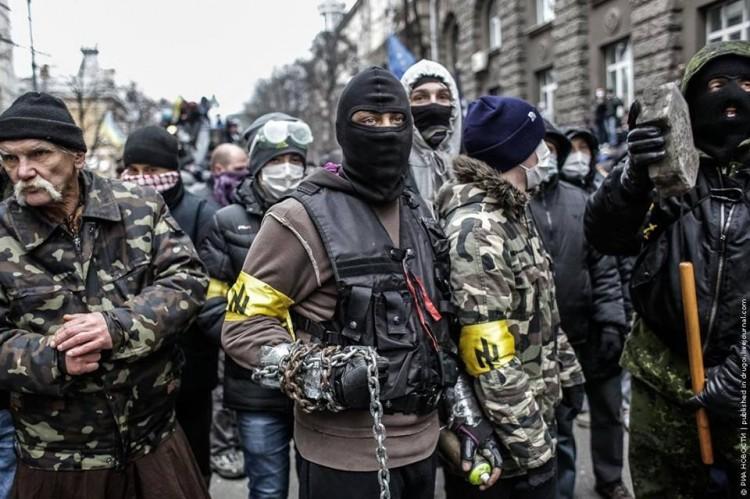 Fascists at Maidan protest