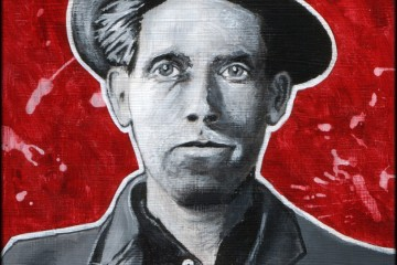 Joe Hill painting