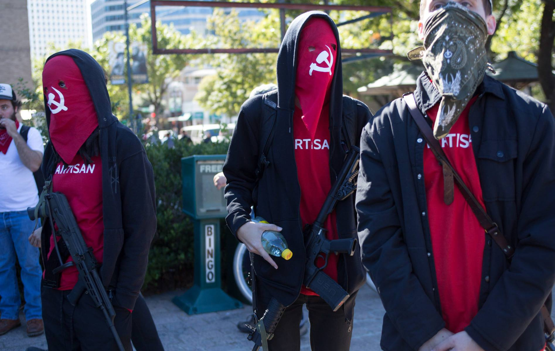 Red Guards in Austin Texas